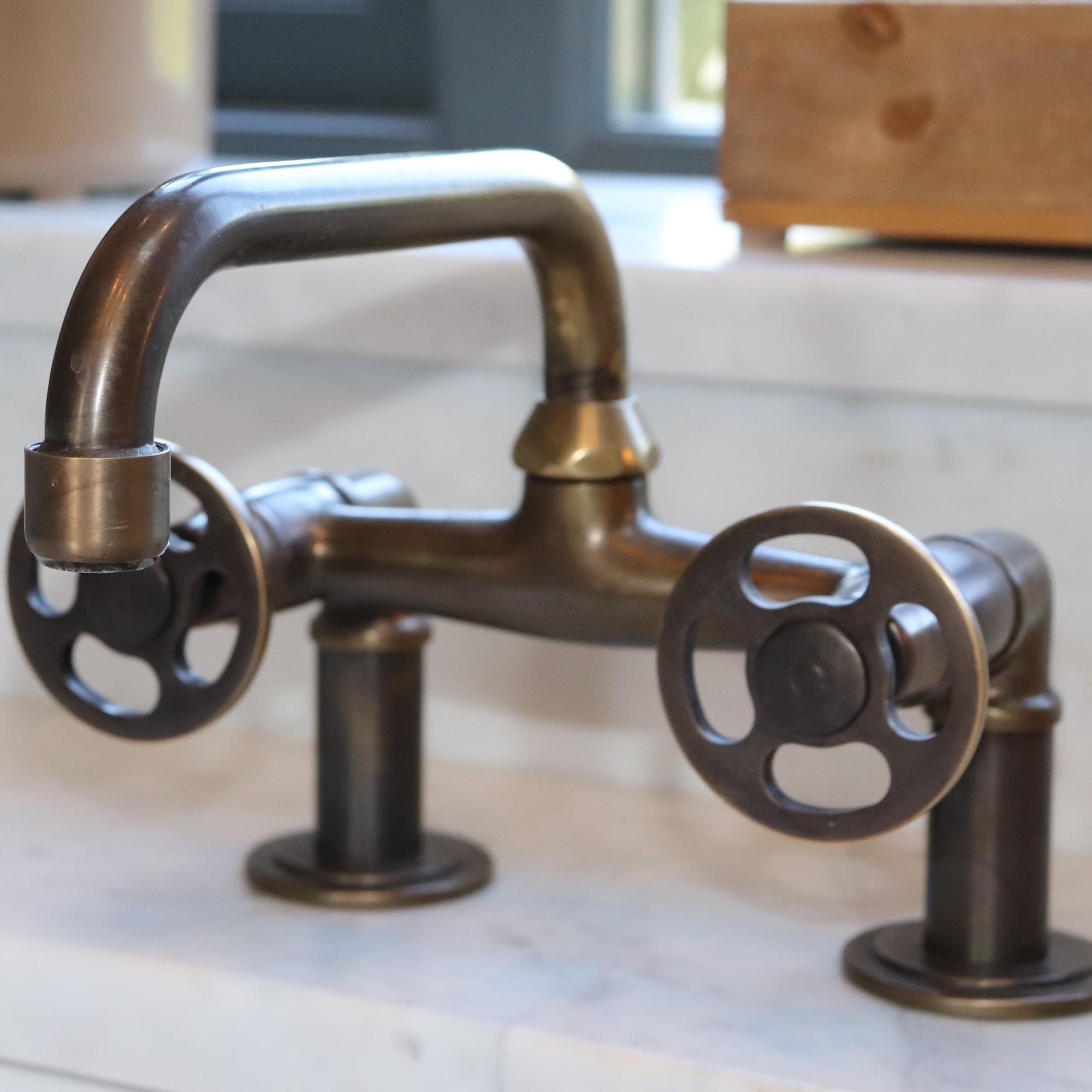 Brass Taps - Warwickshire Interior Designer